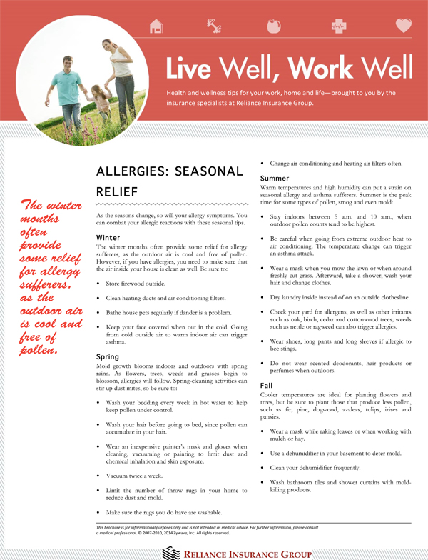 allergies wellness2014